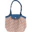 Petit sac cabas plissé oeillets jean - PPMC