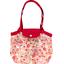 Petit sac cabas plissé  origamis fleuris - PPMC