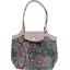 Petit sac cabas plissé rose argentée - PPMC