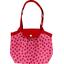 Petit sac cabas plissé vichy coccinelle - PPMC