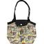 Petit sac cabas plissé  vintage - PPMC