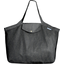 Tote bag with a zip silver gray - PPMC