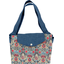 Tote bag with a zip azulejos
