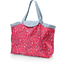 Tote bag with a zip cherry cornflower - PPMC