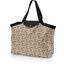 Tote bag with a zip cocoa pods - PPMC