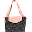 Tote bag with a zip constellations