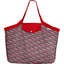 Tote bag with a zip poppy - PPMC