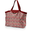 Grand sac cabas en tissu coquelicot - PPMC