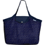 Tote bag with a zip etoile or marine  - PPMC
