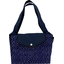 Tote bag with a zip etoile or marine