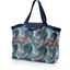 Grand sac cabas en tissu feuillage marine - PPMC