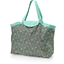 Tote bag with a zip flower mentholated - PPMC