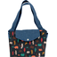 Tote bag with a zip grizzly