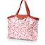 Grand sac cabas en tissu herbier rose - PPMC