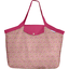 Tote bag with a zip pink jasmine - PPMC
