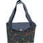 Tote bag with a zip jungle party