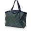 Tote bag with a zip wolf of the woods - PPMC