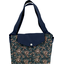 Tote bag with a zip fireflies