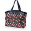 Tote bag with a zip mandarina - PPMC
