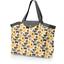 Grand sac cabas mouton jaune - PPMC