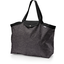 Tote bag with a zip noir pailleté - PPMC