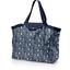 Grand sac cabas en tissu orque bleue - PPMC