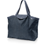Tote bag with a zip silver straw jeans - PPMC