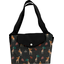 Tote bag with a zip palma girafe