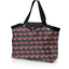 Tote bag with a zip royal poppy