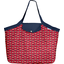 Tote bag with a zip paprika petal - PPMC