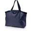 Tote bag with a zip navy blue spots - PPMC
