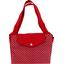 Grand sac cabas pois rouge