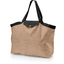 Tote bag with a zip bronze copper stripe  - PPMC