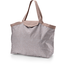 Tote bag with a zip triangle cuivré gris - PPMC
