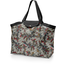 Tote bag with a zip wax fleuri - PPMC
