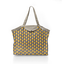 Pleated tote bag - Medium size pineapple - PPMC