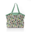 Pleated tote bag - Medium size animals cube - PPMC