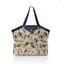 Pleated tote bag - Medium size citrons dorés - PPMC