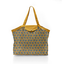 Pleated tote bag - Medium size aniseed star - PPMC