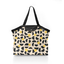 Pleated tote bag - Medium size golden moon