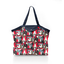 Pleated tote bag - Medium size pop bird