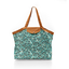 Pleated tote bag - Medium size jade panther - PPMC