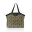 Pleated tote bag - Medium size hen facet - PPMC