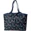 Bolso  cabas  mediano con cremallera poules en ciel - PPMC