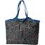 Bolso  cabas  mediano con cremallera  tulipes - PPMC