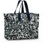 Storage bag black linen foliage  - PPMC