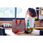 Shopping bag poppy