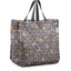 Shopping bag ochre flower