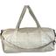 Duffle bag silver linen - PPMC