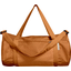 Duffle bag caramel golden straw - PPMC